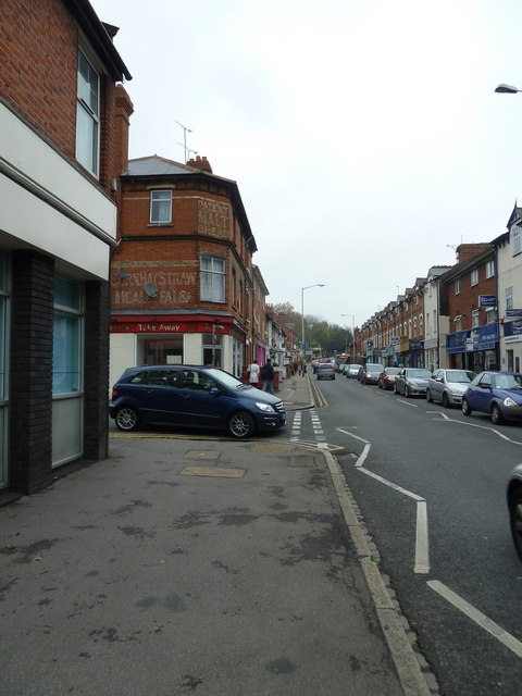 Approaching the junction of Prospect Street and Chester Street