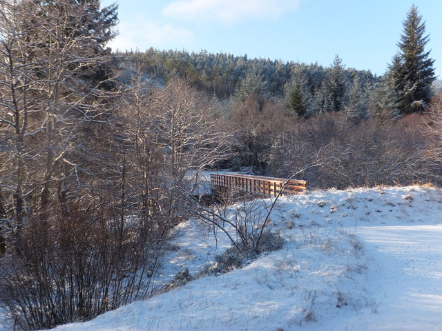 New Footbridge near Garbat