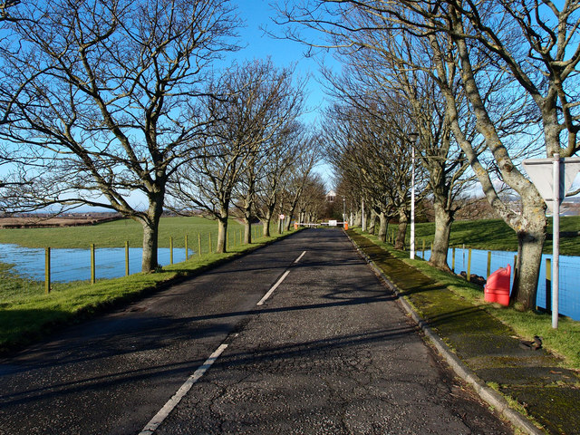 Access Road,  Hannah Research Institute, Ayrshire