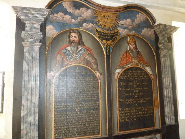 A December visit to St Nicholas Church, Freefolk (e)