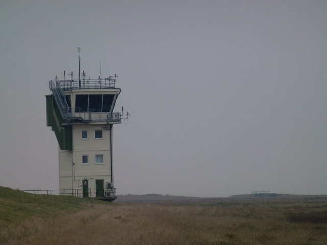 RAF Holbeach - Control tower