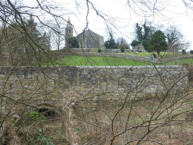 Dairsie Old Church and Brig