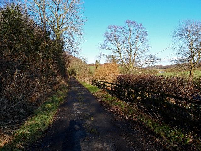 Mainholm Road near Ayr