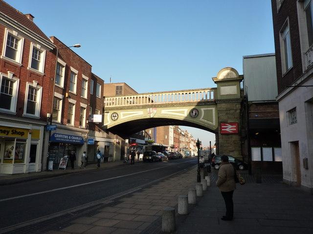 Bridge over The Tything