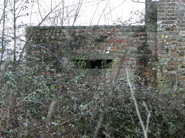 Pillbox, Breamore Mill