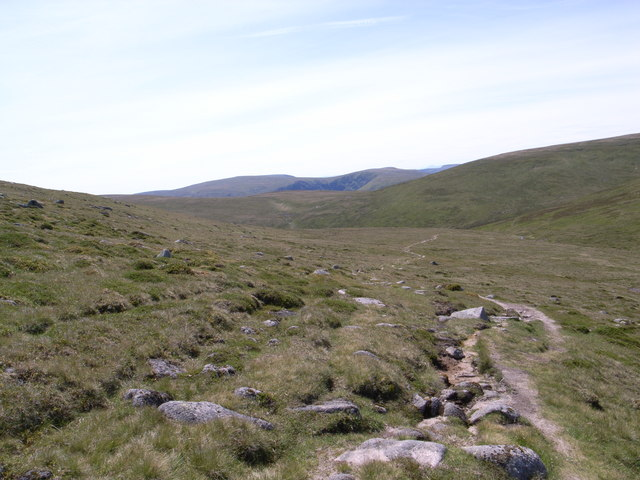 Path across the White Mounth