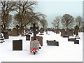 SD7808 : Radcliffe Cemetery by David Dixon
