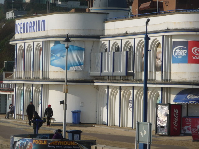 Bournemouth: the Oceanarium catches the sun