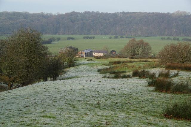 Path to Balderstone Hall