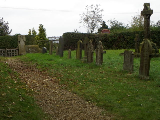 Churchyard, St Peter's Church