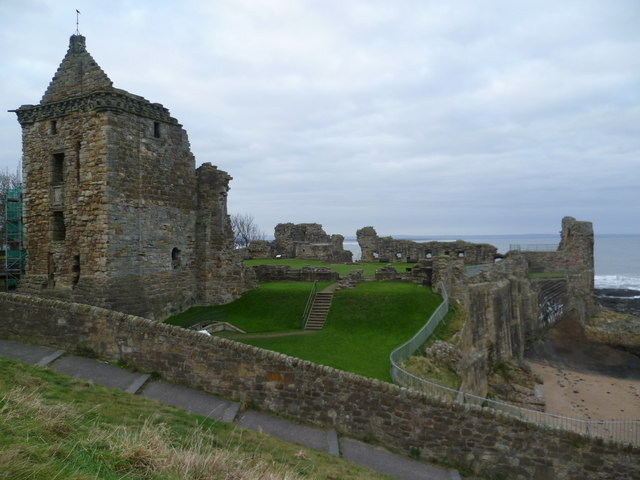 St. Andrews Castle from the Scores