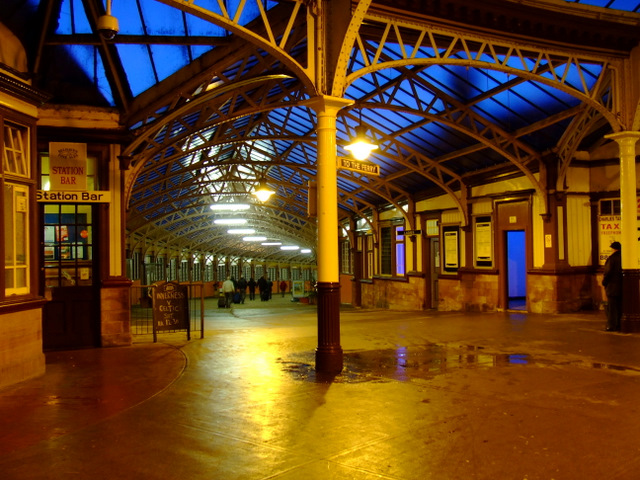 Wemyss Bay railway station and Pier