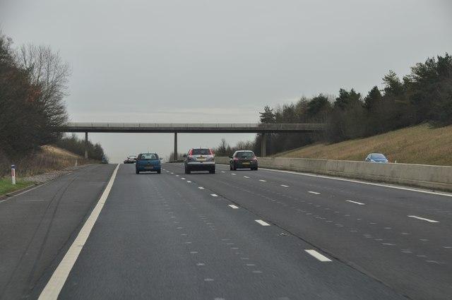 Taunton Deane : M5 Motorway