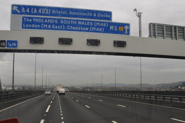 Bristol : Avonmouth - M5 Motorway