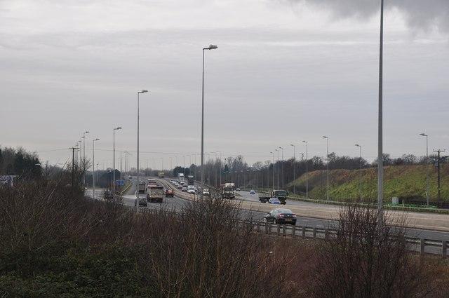 South Gloucestershire : M5 Motorway