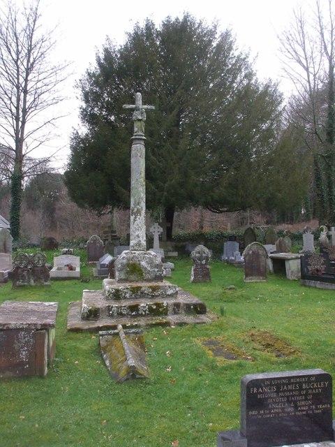 Churchyard cross, Merthyr Mawr