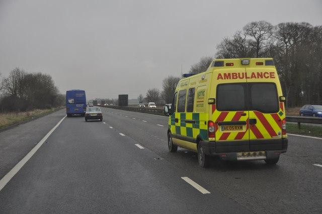 South Gloucestershire : M5 Motorway Northbound