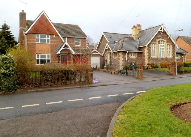 Two houses, Kennett Grange, Llangybi