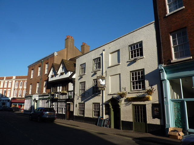 King Charles House and Swan with two Nicks