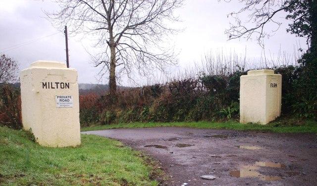 Milton Farm, Llanteg