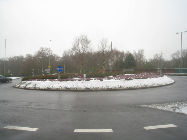 Reading Road roundabout