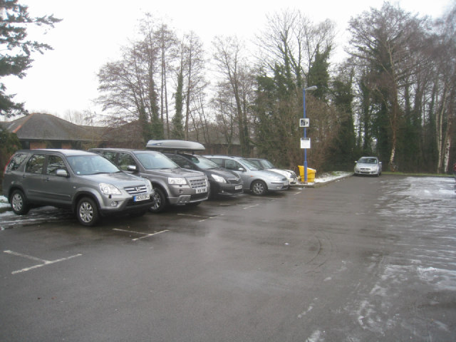 Fleet station car park