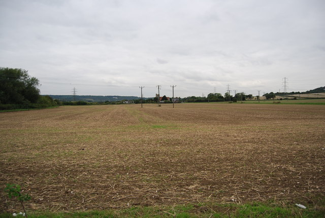 Fallow field south of Burham
