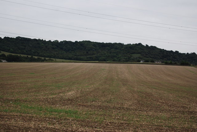 Farmland by the Medway Valley Walk