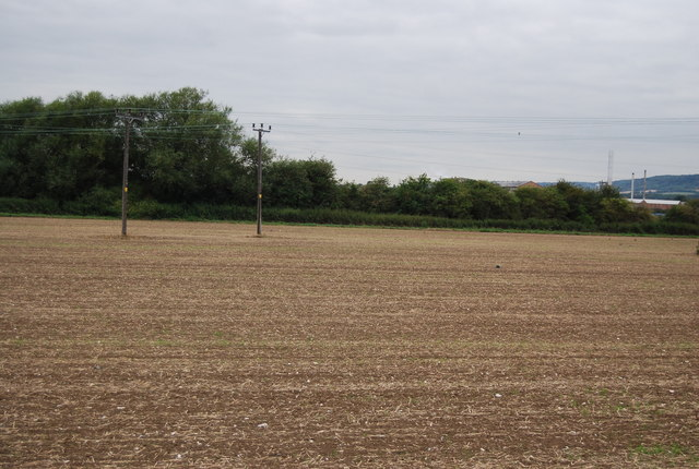 Farmland south of Burham Court