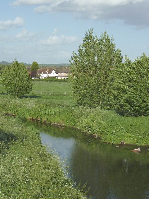 The River Penk at Penkridge, Staffordshire