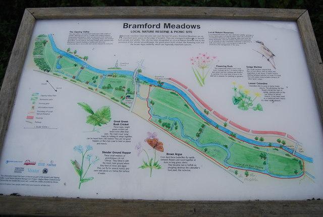 Bramford Meadows Information Board