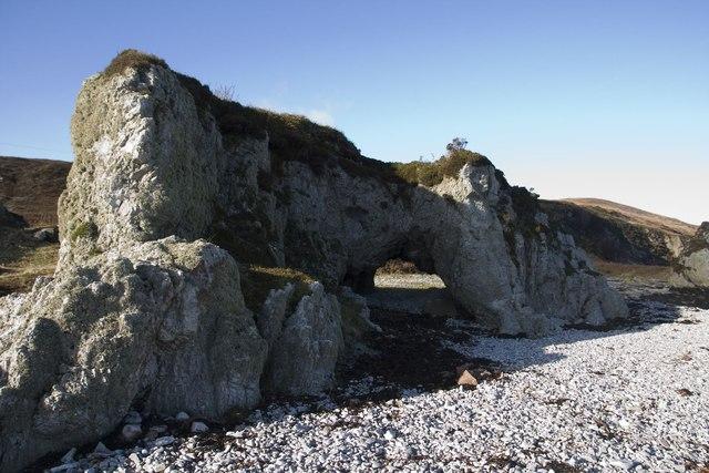 Natural Arch, Rubha Bhachlaig, Islay