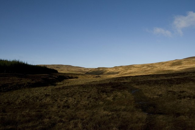 The track towards Margadale, Islay