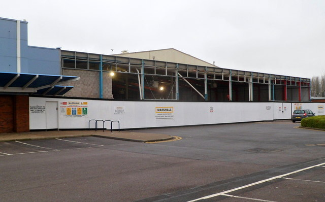 First stage in construction of a new Marks & Spencer store, Newport Retail Park(2)