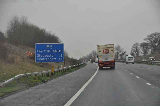 Stroud : The M5 Motorway