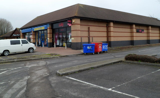 Sally and Blockbuster Video, Newport Retail Park