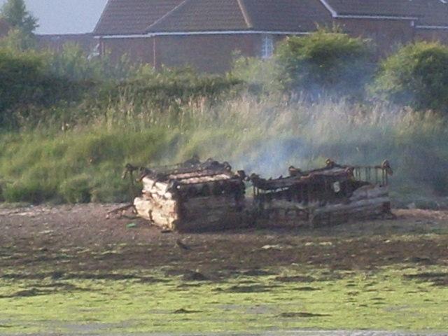 Fire (2) - before Fireman Sam arrived..
