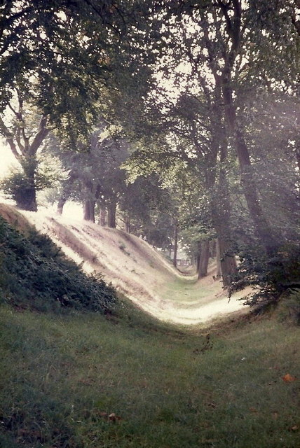 The ditch associated with the Antonine Wall