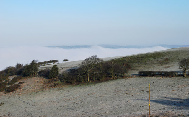 Cloud beyond Luckley Hill