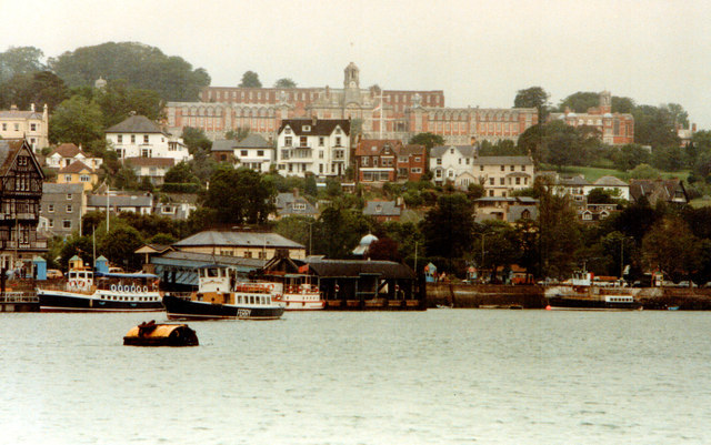 Dartmouth From The River 1983