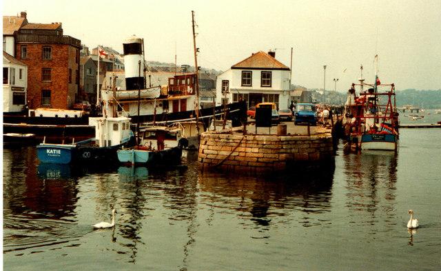 Falmouth Quay 1983