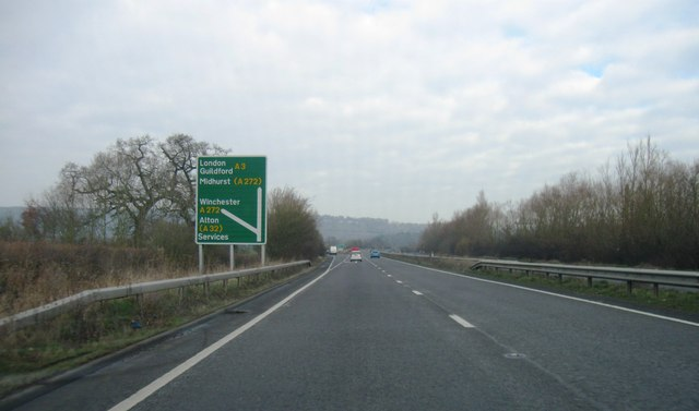 A3, A272 turning