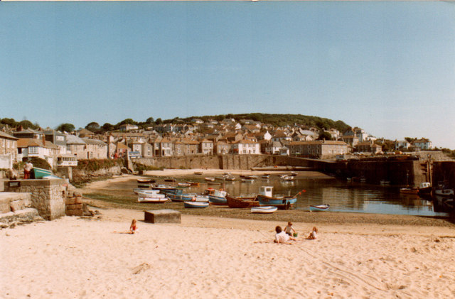 Mousehole Harbour 1983