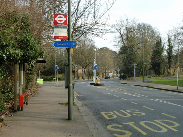 Logs Hill bus stop