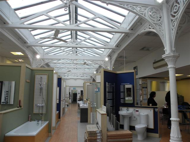 Interior, former railway station, Derry / Londonderry