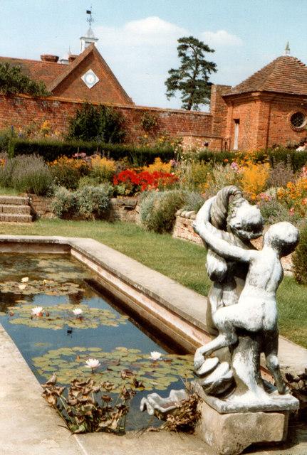 Packwood House, Ornamental Pond 1983