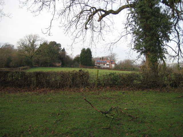 House near Wych Wood Adlington