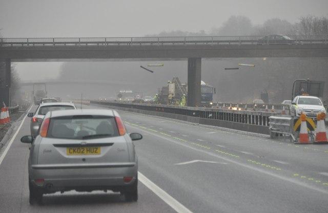 Gloucester : The M5 Motorway