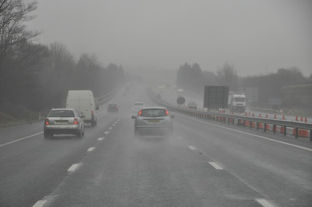 Gloucester : The M5 Motorway Northbound