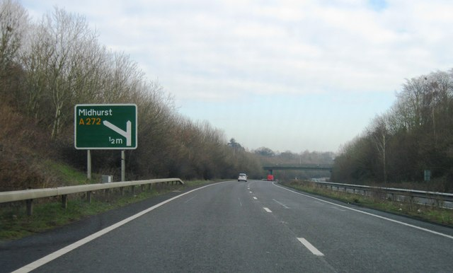 A3, Approaching Midhurst turning